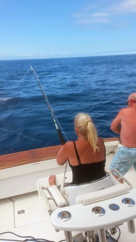 Mein erster White Marlin